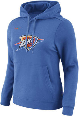 Nike Women's Oklahoma City Thunder Logo Hooded Sweatshirt