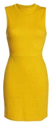 BB Dakota Sleeveless Jacquard Sheath Dress