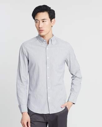 J.Crew Stretch Secret Wash Stripe Shirt