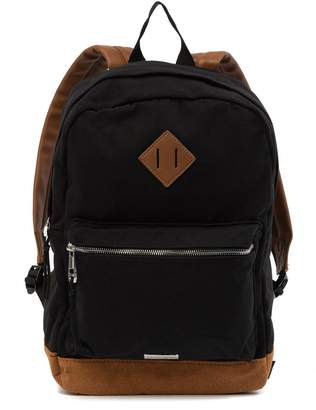 Madden-Girl Large Canvas School Backpack