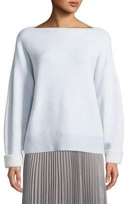 Club Monaco Donah Cashmere Boat-Neck Pullover Sweater