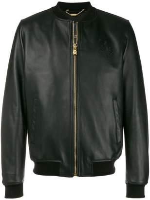 Billionaire bomber jacket
