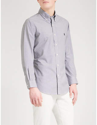 Polo Ralph Lauren Slim-fit single-cuff checked shirt