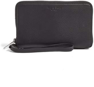 Rag & Bone Zip Around Leather Smartphone Wallet