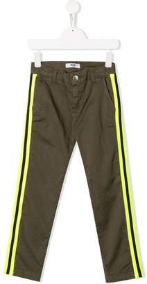 MSGM Kids side stripe trousers