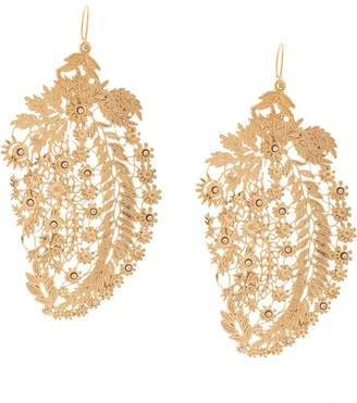 Etro (エトロ) - Etro paisley filigree earrings