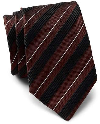 BOSS Striped Diagonal Tie