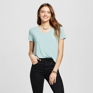 Mossimo Supply Co. Women's Short Sleeve Softest V-Neck Tee - Mossimo Supply Co. $8 thestylecure.com