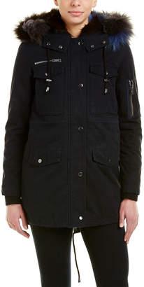 Jocelyn Twill Cargo Jacket