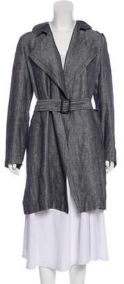 Roland Mouret Lightweight Knee-Length Coat
