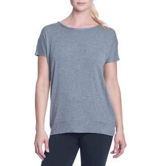 Gaiam Open Back Scoop Neck T-Shirt