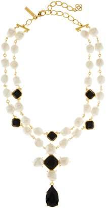 Oscar de la Renta Baroque Imitation Pearl Necklace