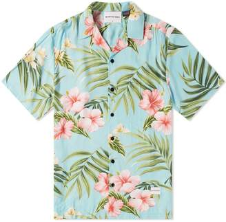 Mki MKI Cherry Blossom Vacation Shirt