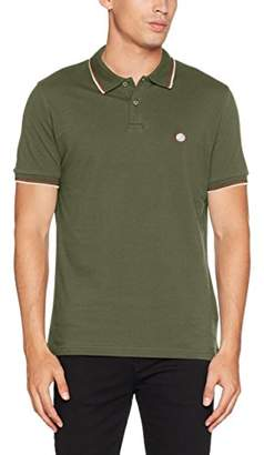 Pretty Green Pretty Men's Tipped Pique Polo Shirt