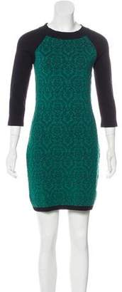 Max Mara Weekend Jacquard Mini Dress