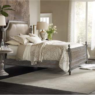 Hooker Furniture Rankin King Upholstered Panel Bed