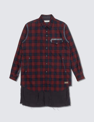 Undercover John Pendleton Red Check Shirts