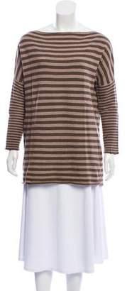 Alice + Olivia Striped Wool-Blend Sweater