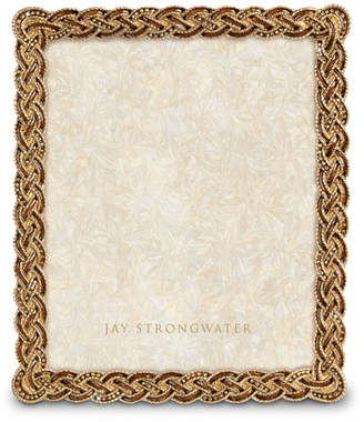 """Jay Strongwater Braided 8"""" x 10"""" Picture Frame"""