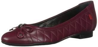 Marc Joseph New York Womens Leather Made in Brazil Pearl Street Flat Ballet
