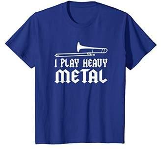 I Play Heavy Metal Funny Trombone T-Shirt