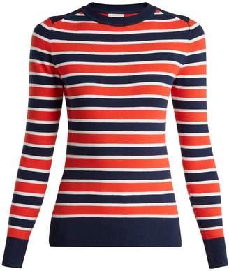 JOOSTRICOT Peachskin striped sweater