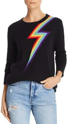 Madeleine Thompson Lightning Bolt Cashmere Sweater