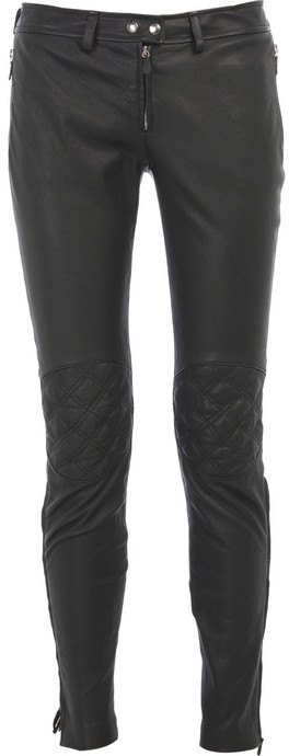 Alexander McQueen Leather skinny pants