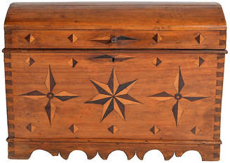 One Kings Lane Vintage Antique Spanish Dome Trunk