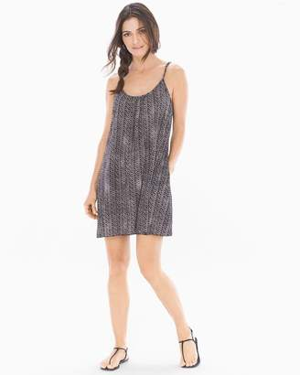 Elan International Spaghetti Strap Short Dress