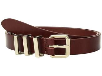 Rebecca Minkoff 25 mm Flat Strap Smooth Leather Belts
