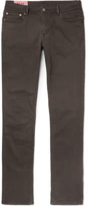 Acne Studios North Slim-Fit Stretch-Denim Jeans - Dark green