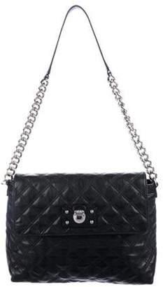 Marc Jacobs Quilted Leather Shoulder Bag Black Quilted Leather Shoulder Bag