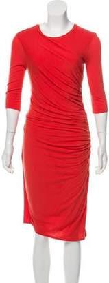 Helmut Lang Knee-Length Knit Dress