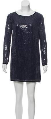 Haute Hippie Embellished Mini Dress w/ Tags