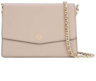 Tory Burch 46333 082-Gray Heron Leather/Fur/Exotic Skins->Leather