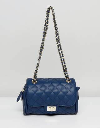 Marc B Mini Knightsbridge Quilted Crossbody Bag