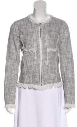 Alexander Wang Bouclé Knit Jacket