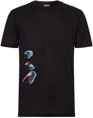 Lanvin Embroidered Bird T-Shirt