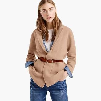 Sophie open-front sweater blazer