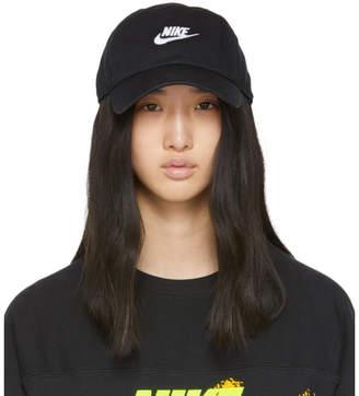 Nike Black Heritage 86 Futura Cap