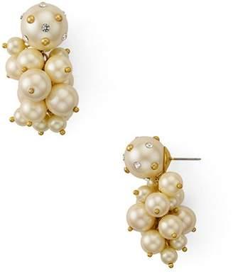 Kate Spade Simulated Pearl Cluster Drop Earrings