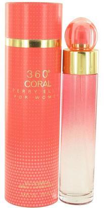 Perry Ellis 360 Coral Eau De Parfum Spray for Women (3.4 oz/100 ml) $92 thestylecure.com
