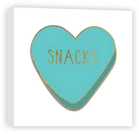 Snacks Decorative Canvas Wall Art 16