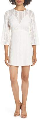 Ali & Jay Lulu Embroidered Mesh Minidress