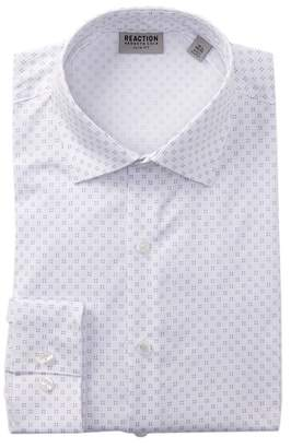 Kenneth Cole Reaction Slim Fit Print Dress Shirt