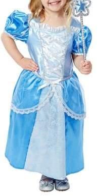 Melissa & Doug Royal Princess Dress, Wand and Crown Costume Set