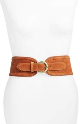 Elise M. 'Vicky' Suede Belt