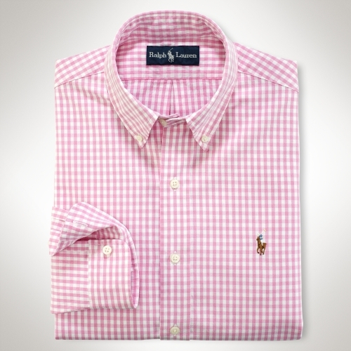 Polo Ralph Lauren Custom-Fit Gingham Oxford