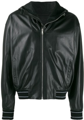 Givenchy leather windbreaker